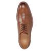 Brązowe skórzane półbuty typu angielki bata, brązowy, 826-3812 - 17