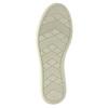Niebieskie skórzane trampki damskie bata, niebieski, 526-9618 - 26
