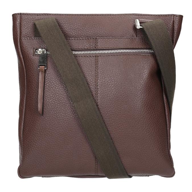 Skórzana torba męska typu crossbody bata, brązowy, 964-4230 - 26