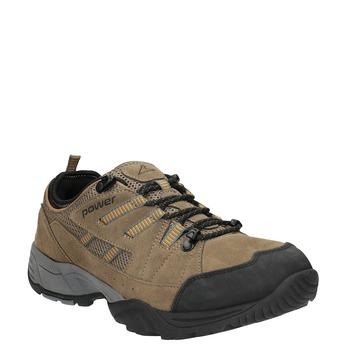 Skórzane buty w stylu outdoor power, brązowy, 803-3118 - 13