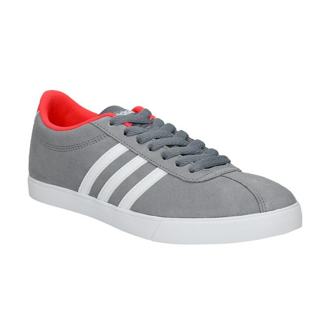Szare trampki damskie adidas, szary, 503-2976 - 13