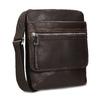 Skórzana torba typu crossbody bata, brązowy, 964-4237 - 13