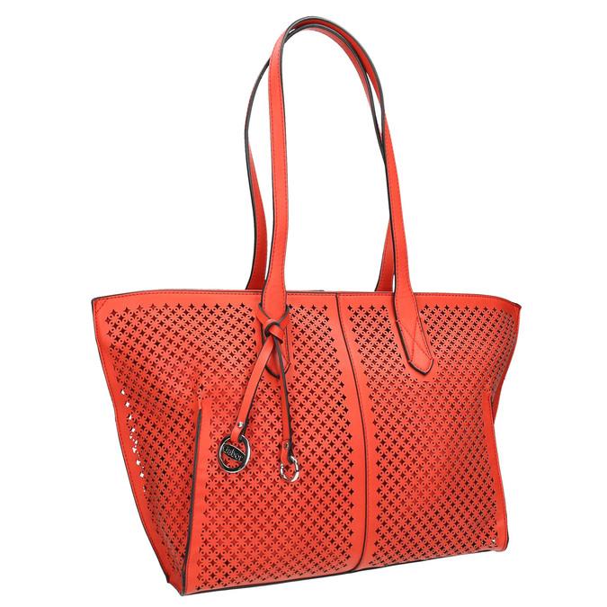 Czerwona perforowana torba gabor-bags, czerwony, 961-5080 - 13