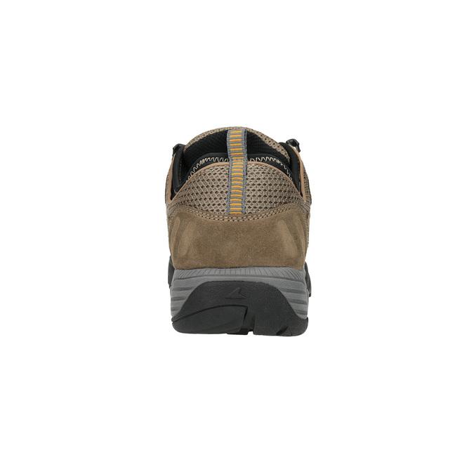 Skórzane buty w stylu outdoor power, brązowy, 803-3118 - 17