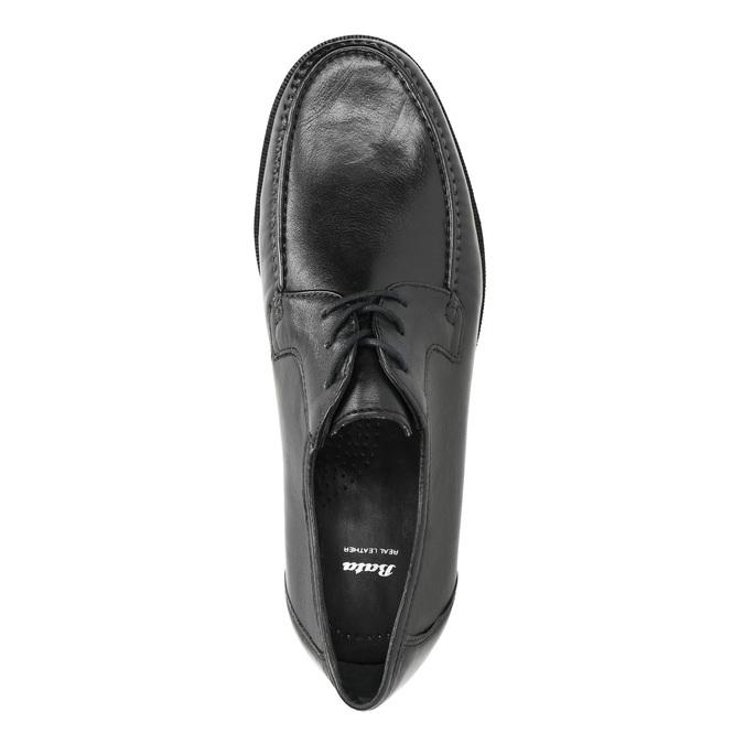 Męskie półbuty zprzeszyciami bata, czarny, 824-6838 - 19