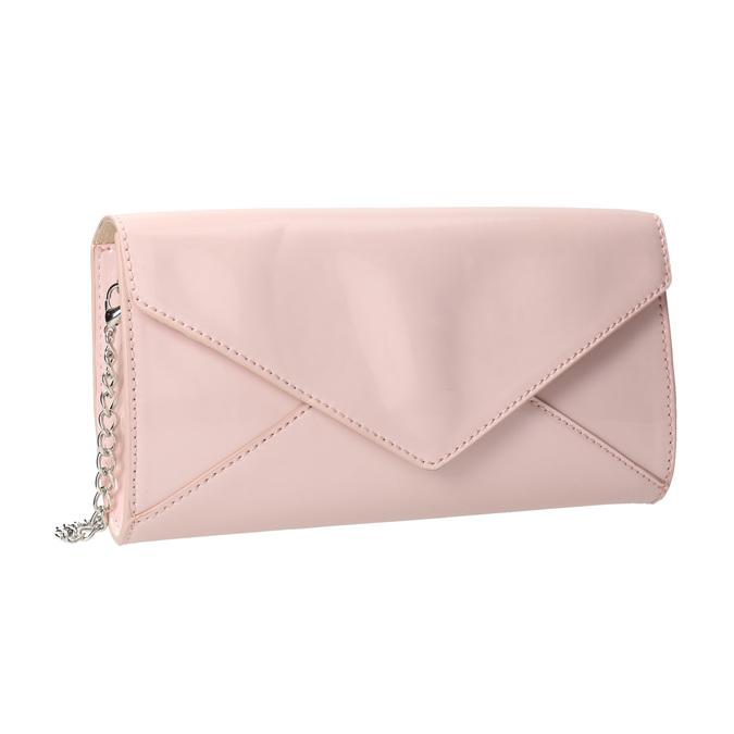 Różowa damska kopertówka bata, różowy, 961-5685 - 13