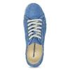 Skórzane półbuty na co dzień weinbrenner, niebieski, 546-9603 - 17