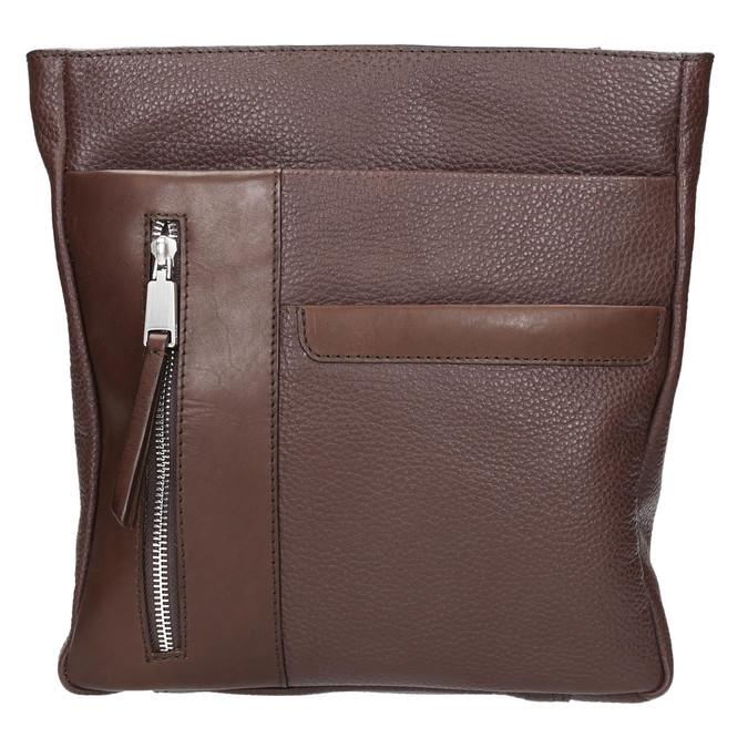 Skórzana torba męska typu crossbody bata, brązowy, 964-4230 - 19