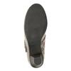 Skórzane czółenka oszerokościH bata, beżowy, 623-2600 - 17