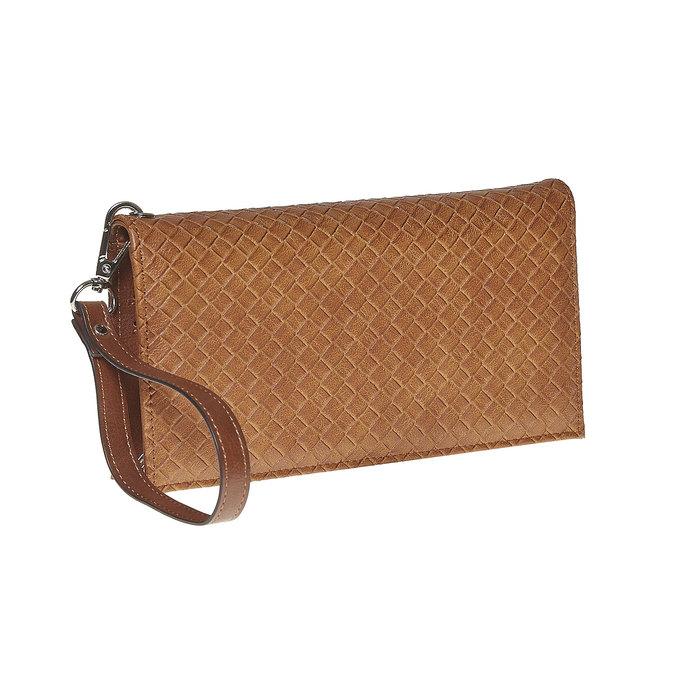 Portfel damski zpaskiem bata, brązowy, 941-3148 - 13