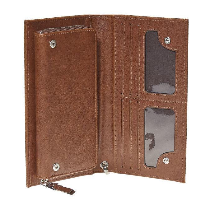 Portfel damski zpaskiem bata, brązowy, 941-3148 - 15