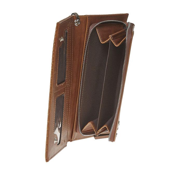 Portfel damski zpaskiem bata, brązowy, 941-3148 - 17