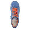 Niebieskie skórzane trampki dziecięce mini-b, niebieski, 313-9601 - 19