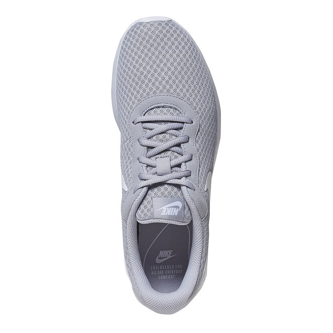 Szare trampki wsportowym stylu nike, szary, 809-2557 - 19