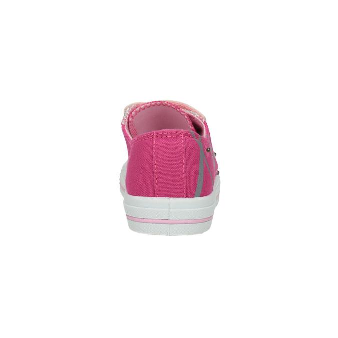 Różowe trampki dziewczęce mini-b, różowy, 229-5183 - 17
