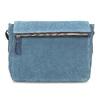 Niebieska skórzana torebka typu crossbody bata, niebieski, 963-9127 - 26