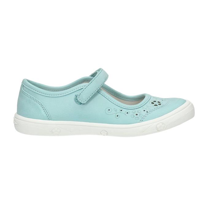 Turkusowe obuwie dziewczęce mini-b, 221-7604 - 15