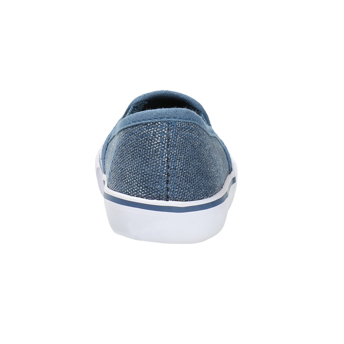 Obuwie dziecięce typu slip-on north-star, niebieski, 229-9193 - 17