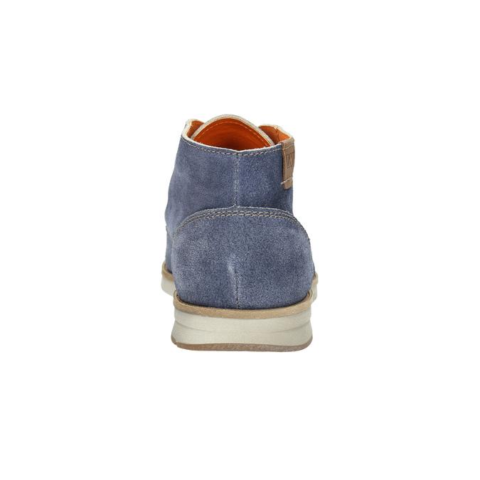Zamszowe buty za kostkę weinbrenner, niebieski, 843-9625 - 17