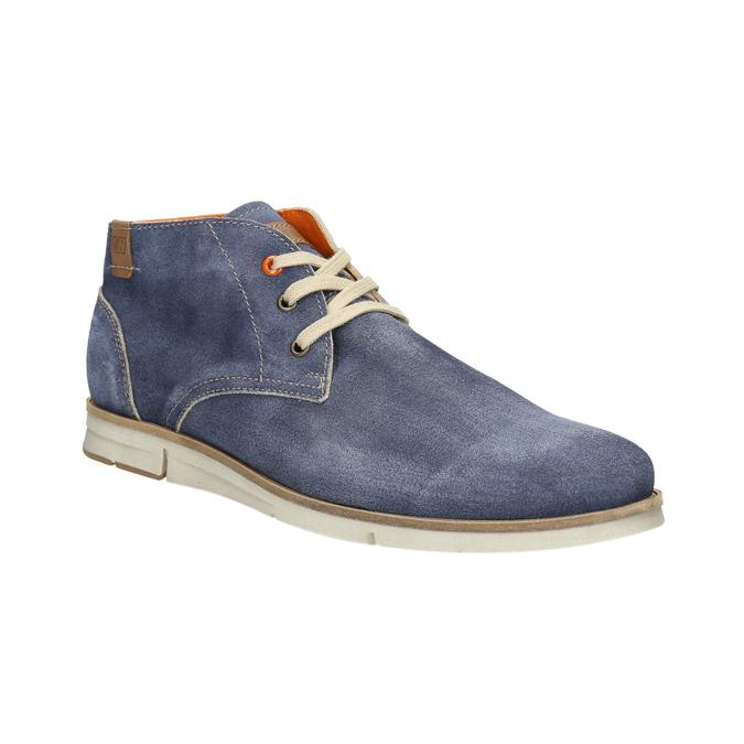 Zamszowe buty za kostkę weinbrenner, niebieski, 843-9625 - 13