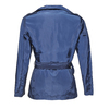 Granatowy trencz damski bata, niebieski, 979-9205 - 26