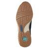 Skórzane trampki damskie gabor, niebieski, 626-9205 - 26
