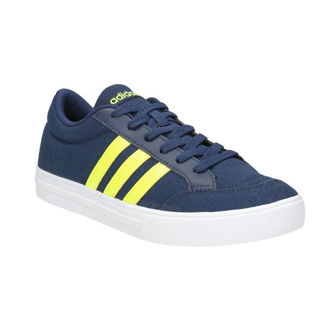 Niebieskie trampki chłopięce adidas, niebieski, 489-8119 - 13