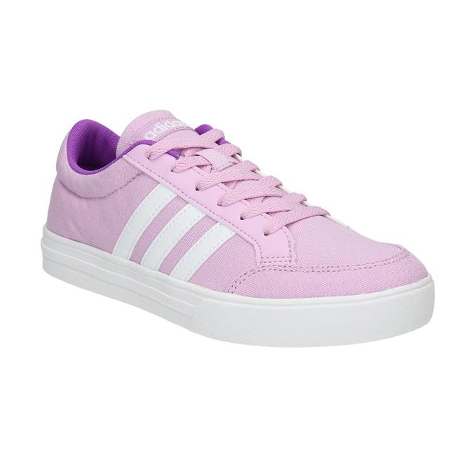 Fioletowe trampki dziewczęce adidas, fioletowy, 489-9119 - 13