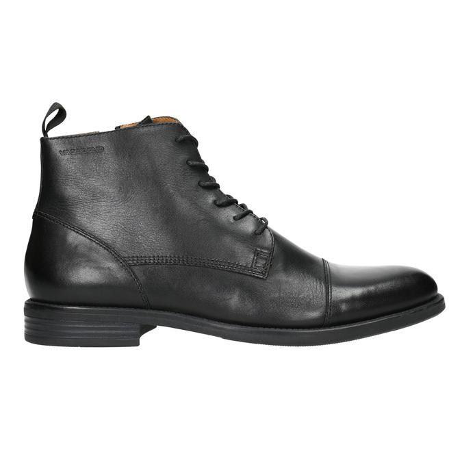 Skórzane botki vagabond, czarny, 894-6001 - 15