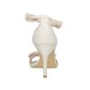 Sandały damskie zkokardami insolia, biały, 769-1614 - 17