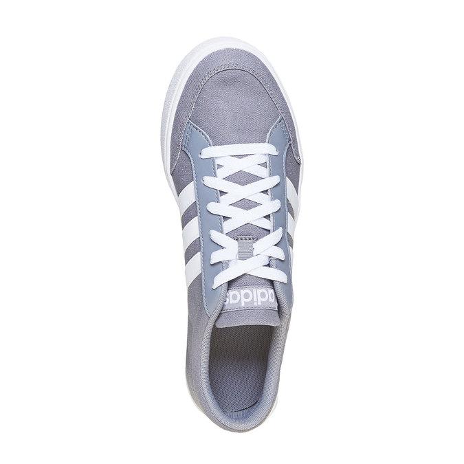 Szare trampki męskie adidas, szary, 889-2235 - 19