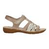 Skórzane sandały oszerokościH bata, brązowy, 566-4604 - 15