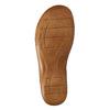 Skórzane sandały oszerokościH bata, brązowy, 566-4604 - 26
