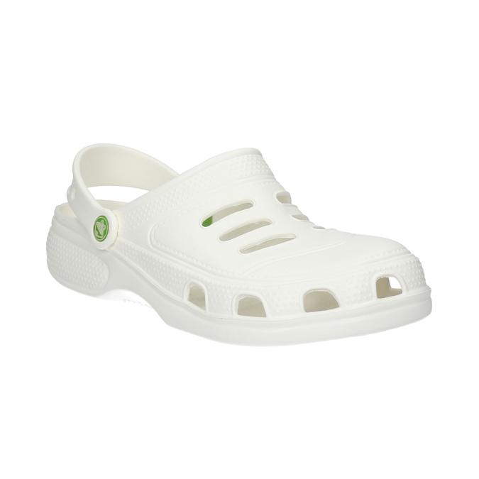 Białe sandały męskie coqui, biały, 872-1616 - 13