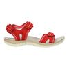 Czerwone sandały damskie ze skóry weinbrenner, czerwony, 566-5608 - 15