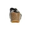 Skórzane klapki na platformie weinbrenner, czarny, 666-6613 - 17