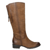 Brązowe skórzane kozaki bata, brązowy, 596-4604 - 15