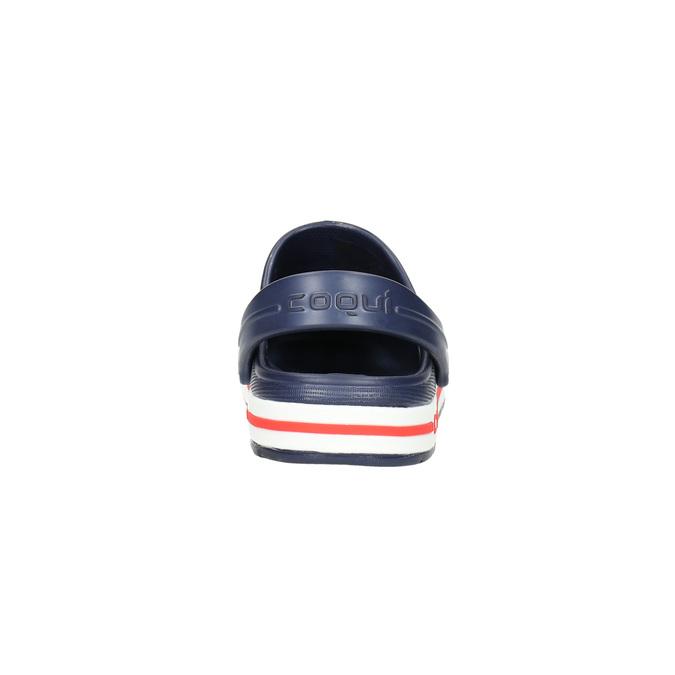 Granatowe sandały dziecięce coqui, niebieski, 272-9603 - 17