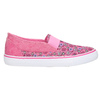 Wzorzyste slip-on dziewczęce mini-b, różowy, 329-5611 - 15