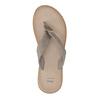 Skórzane japonki damskie bata, szary, 566-2607 - 19