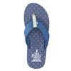 Niebieskie japonki męskie north-star, niebieski, 871-9616 - 26
