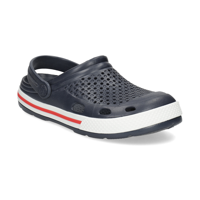 Granatowe sandały damskie coqui, niebieski, 572-9611 - 13