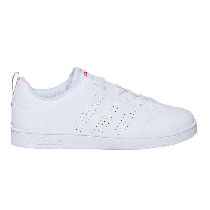 Białe trampki dziecięce adidas, biały, 401-5133 - 15