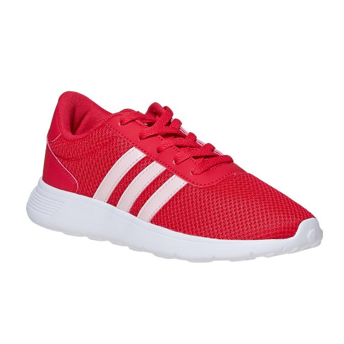 Czerwone trampki dziecięce adidas, czerwony, 409-5288 - 13