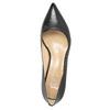 Skórzane czółenka damskie bata, czarny, 624-6640 - 19
