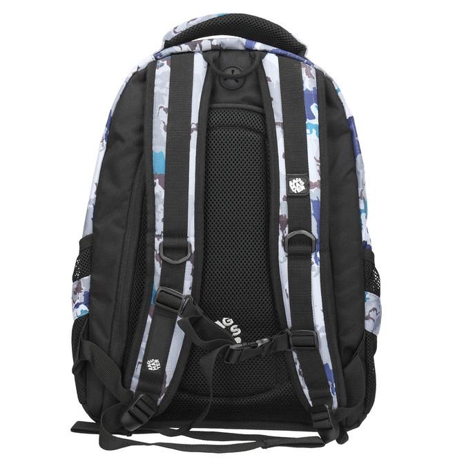 Plecak szkolny wdeseń bagmaster, szary, 969-2649 - 19