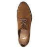 Brązowe półbuty damskie zprzeszyciami bata, brązowy, 529-4632 - 19