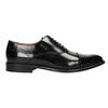 Czarne skórzane półbuty typu oksfordy bata, czarny, 826-6671 - 26