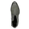 Skórzane botki bata, szary, 596-9659 - 15