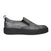 Slip-on damskie na czarnej platformie bata, szary, 516-1613 - 15